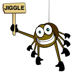 Jiggle Search Spider from JigglingtheWeb.com